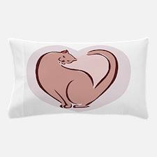 Cat Heart Pillow Case