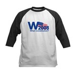 W 2008-What Constitution? Kids Baseball Jersey