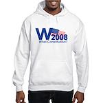 W 2008-What Constitution? Hooded Sweatshirt