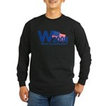 W 2008-What Constitution? Long Sleeve Dark T-Shirt