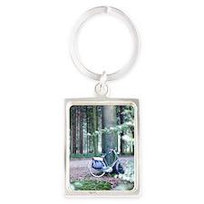 Gelderland Woods Portrait Keychain
