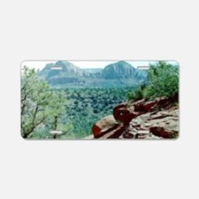 Red Rocks of Sedona Aluminum License Plate