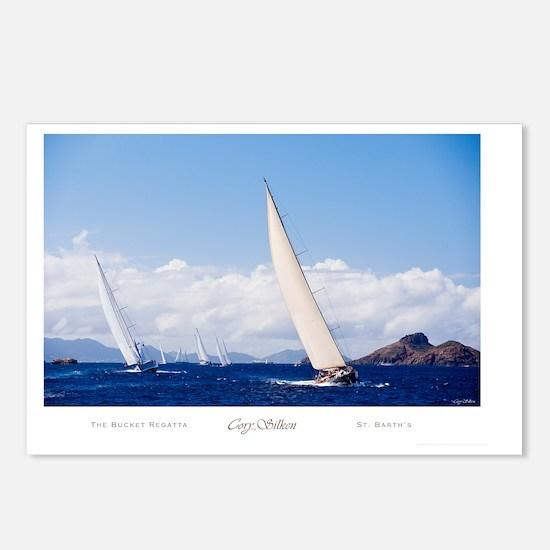 silken_BucketRegatta Postcards (Package of 8)