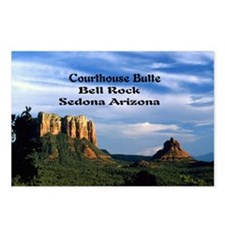 Courthouse Butte and Bell Postcards (Package of 8)