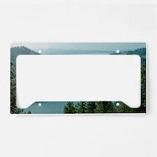 Coeur dAlene Lake License Plate Holder