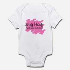 Living proof Breast cancer ca Infant Bodysuit