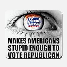 Fox News Makes American Stupid Enough to Mousepad