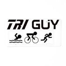Copy of TRI GUY Aluminum License Plate