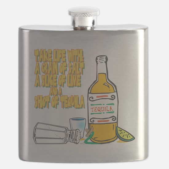 3-Tequila Flask