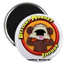 Defiant Monkey White Shirt Magnet