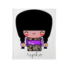 ryoko Throw Blanket