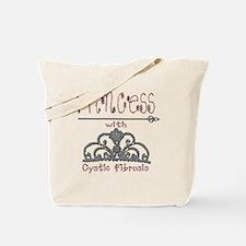 Cystic Fibrosis Princess Tote Bag