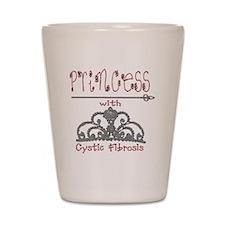 Cystic Fibrosis Princess Shot Glass