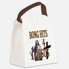 bonghits4jesusshirt10c copy Canvas Lunch Bag