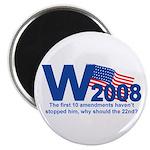W in 2008 Joke Magnet