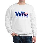 W in 2008 Joke Sweatshirt