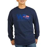 W in 2008 Joke Long Sleeve Dark T-Shirt