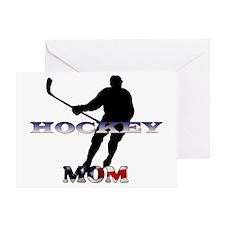 Hockey-Mom-US Greeting Card