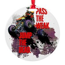 quad rider Ornament