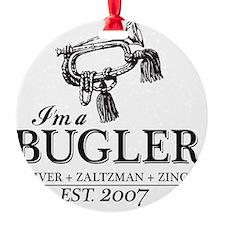 bugler t-shirt Ornament