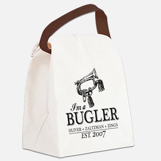 bugler t-shirt Canvas Lunch Bag