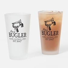 bugler t-shirt Drinking Glass