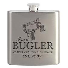 bugler t-shirt Flask