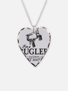 bugler t-shirt Necklace