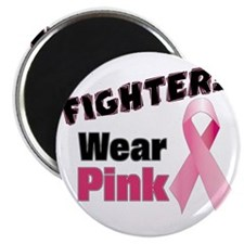 Fighters Wear Pink Magnet