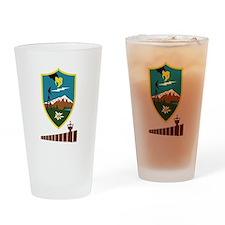 2-BorderSitesTshirtBlack Drinking Glass