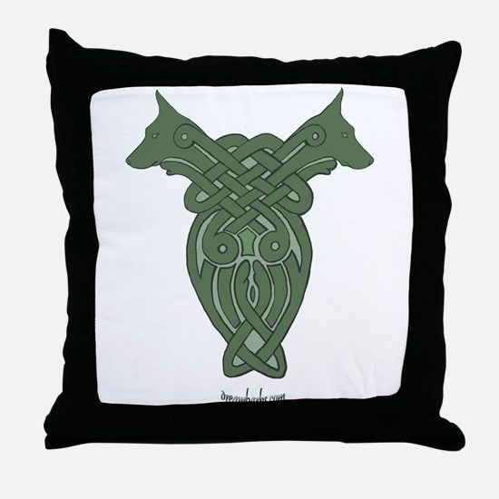 Celtic Dobe Throw Pillow