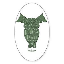 Celtic Dobe Oval Decal