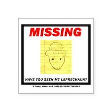 "leppy - no bkgd Square Sticker 3"" x 3"""