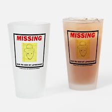 leppy - no bkgd Drinking Glass