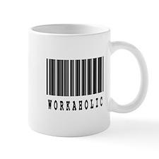 Workaholic Barcode Design Mug