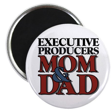 "Executive Producers New Mom & Dad 2.25"" Magnet (10"