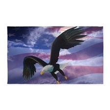 freedom eagle  3'x5' Area Rug