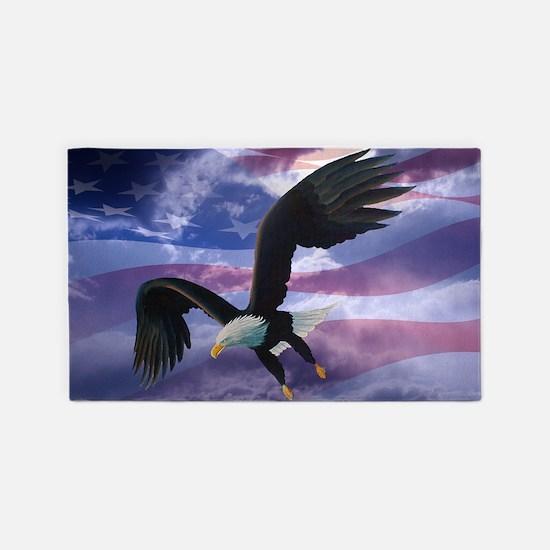 freedom eagle  3'x5' Area Rug