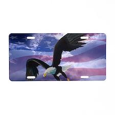freedom eagle  Aluminum License Plate