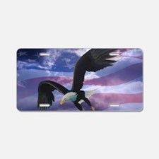 freedom eagle  Aluminum License Plate