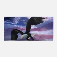 freedom eagle  Beach Towel