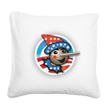 Obama Lied Square Canvas Pillow