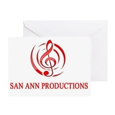 San Ann Productions Greeting Card