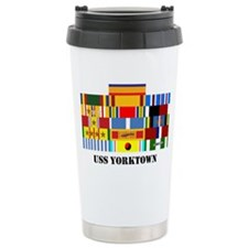 uss-yorktown2-group-text Travel Mug