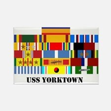 uss-yorktown2-group-text Rectangle Magnet