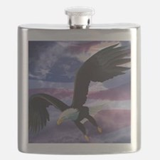 freedom eagle square 2 Flask
