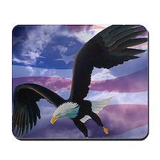 freedom eagle square 2 Mousepad