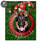 German shepherd christmas Puzzles