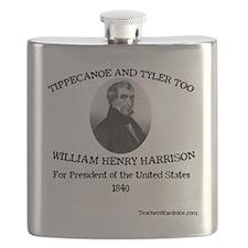 Tippecanoe and Tyler Too Flask
