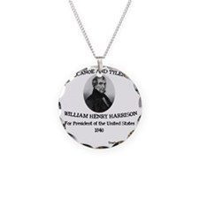 Tippecanoe and Tyler Too Necklace Circle Charm